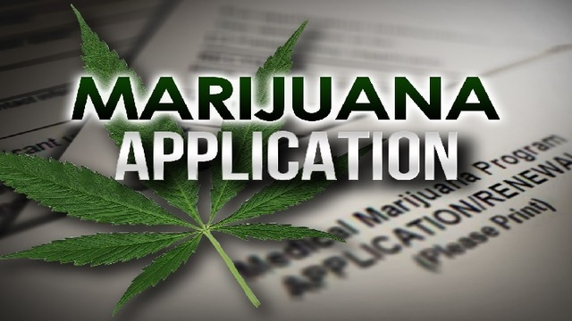 Applications for marijuana business